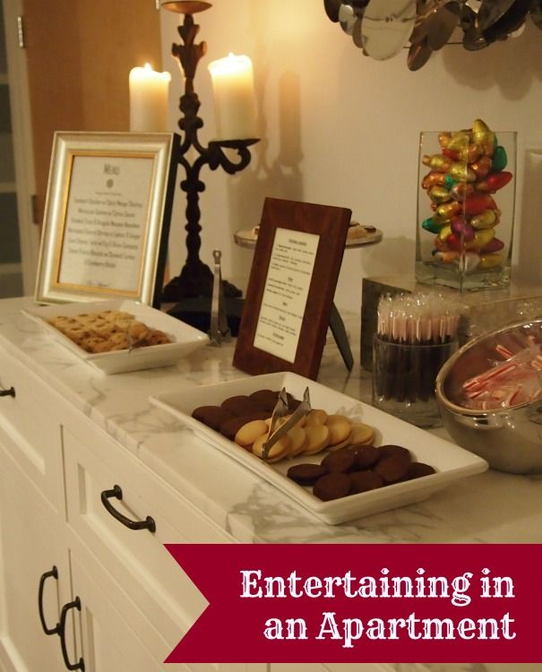 Tips For Entertaining In Apartments