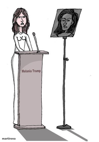 Alfredo Martirena (2016-07-19) USA: Suspicion of Plagiarism Melania Trump Michelle Obama