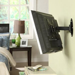 Tv Wall Mount With Images Wall Mounted Tv Tv Wall Mount Bedroom Tv Wall