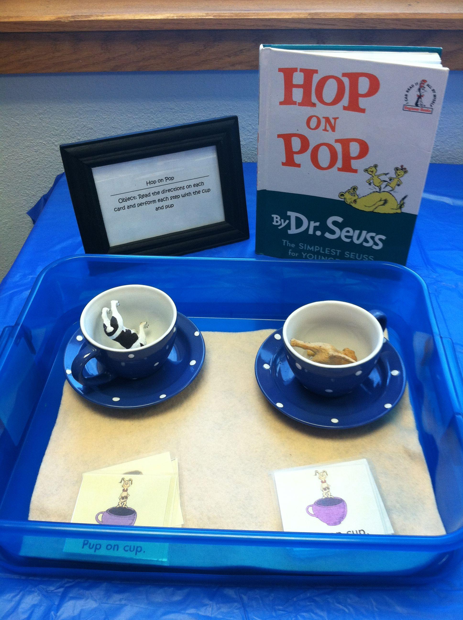 Hop On Pop Learning Station