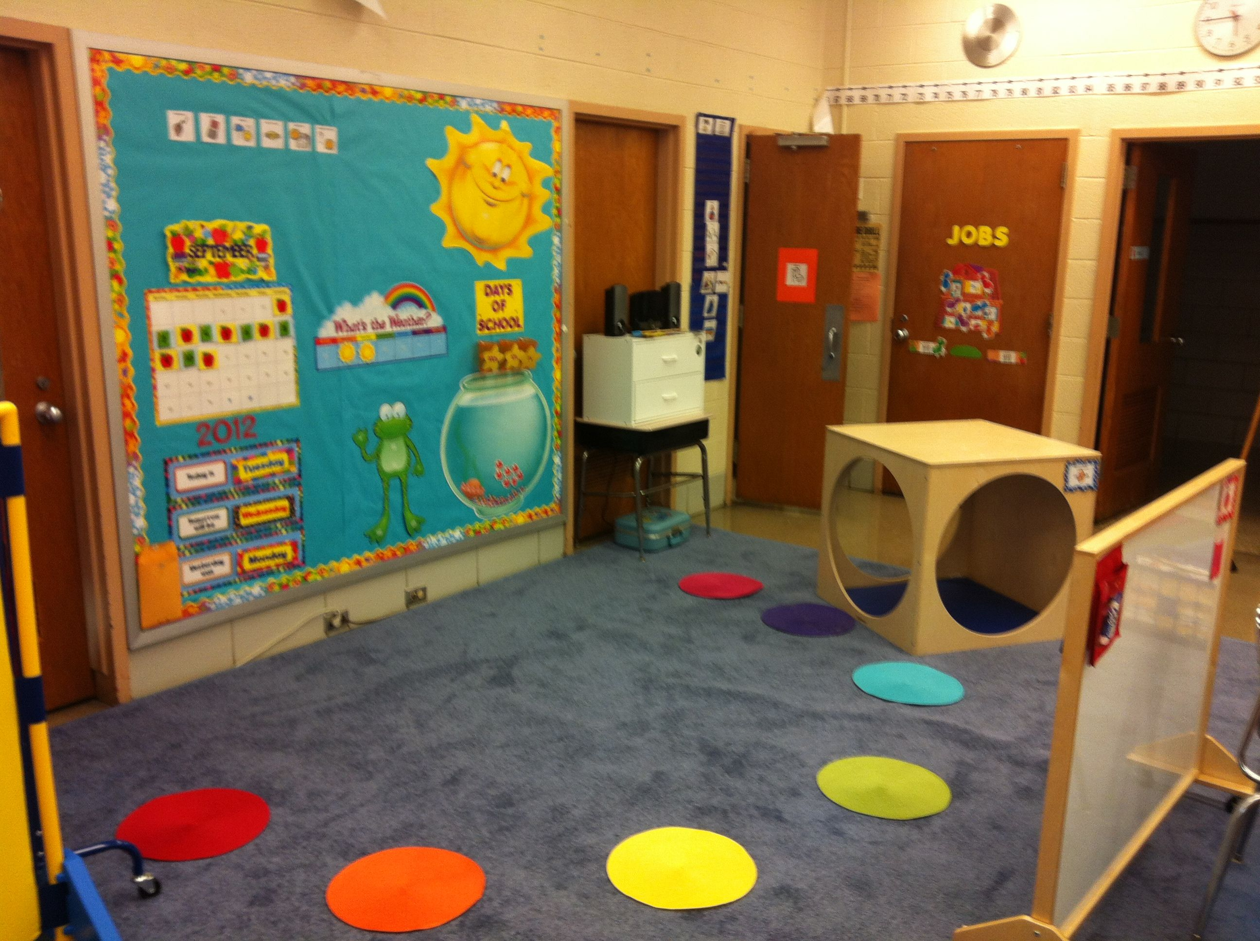Classroom Design For Students With Autism ~ Morning circle my autistic support classroom