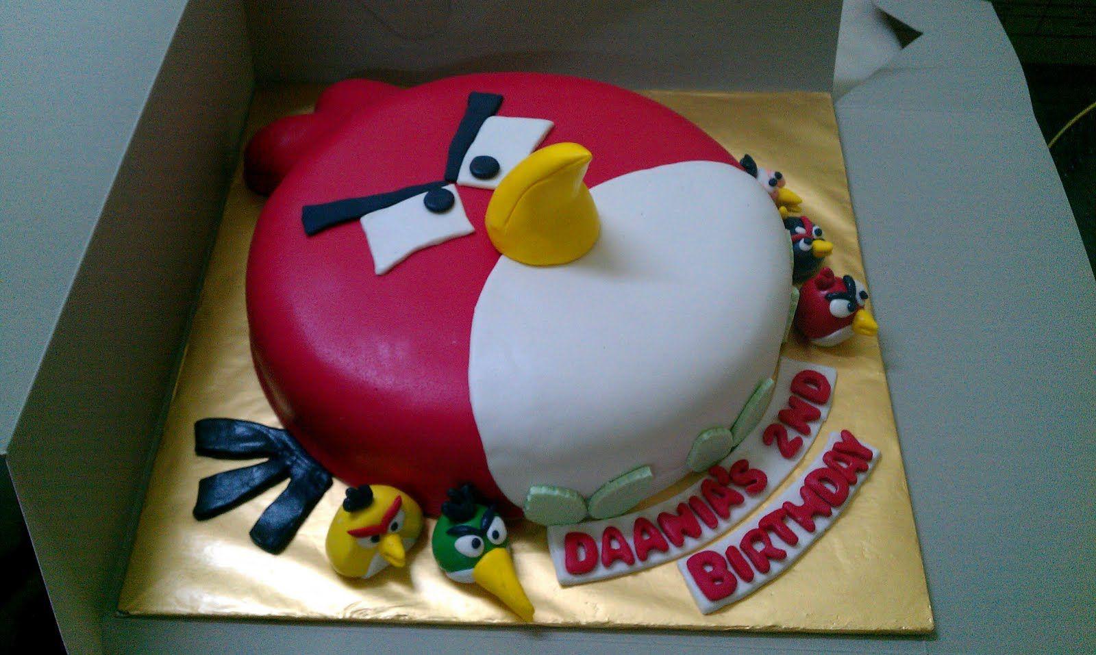 3d Angry Birds Cake Angry Birds Birthday Cake Angry Birds Cake