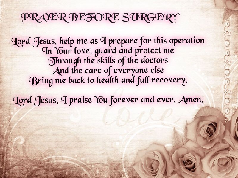 prayer before surgery quotes pinterest surgery everyday