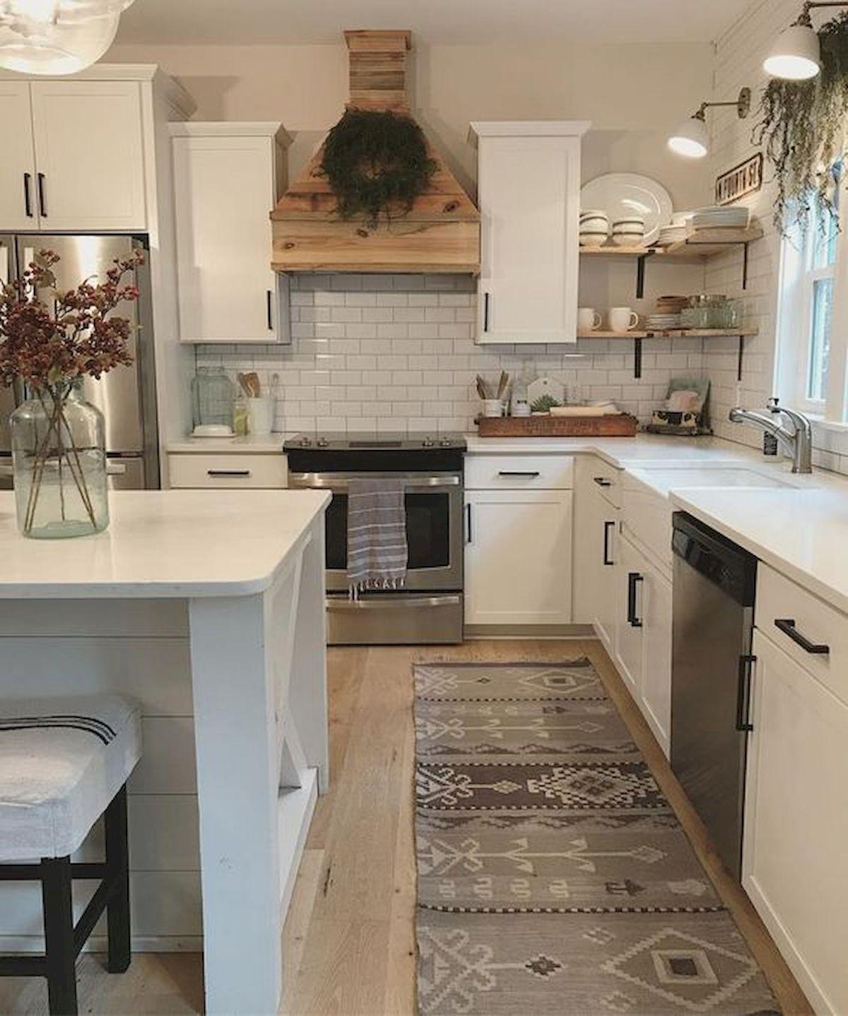60 great farmhouse kitchen countertops design ideas and decor 35 home decor kitchen kitchen on farmhouse kitchen decor countertop id=49194