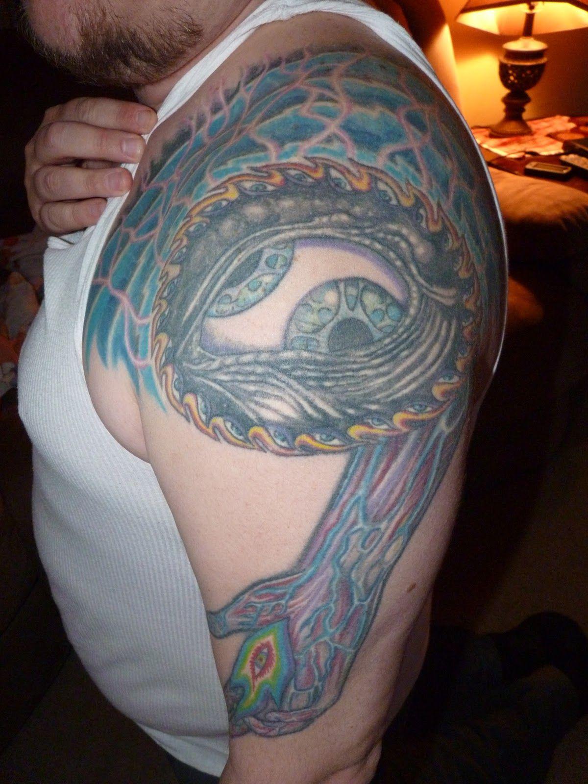 Third Eye Tattoo: Tool Third Eye Tattoo On Shoulder