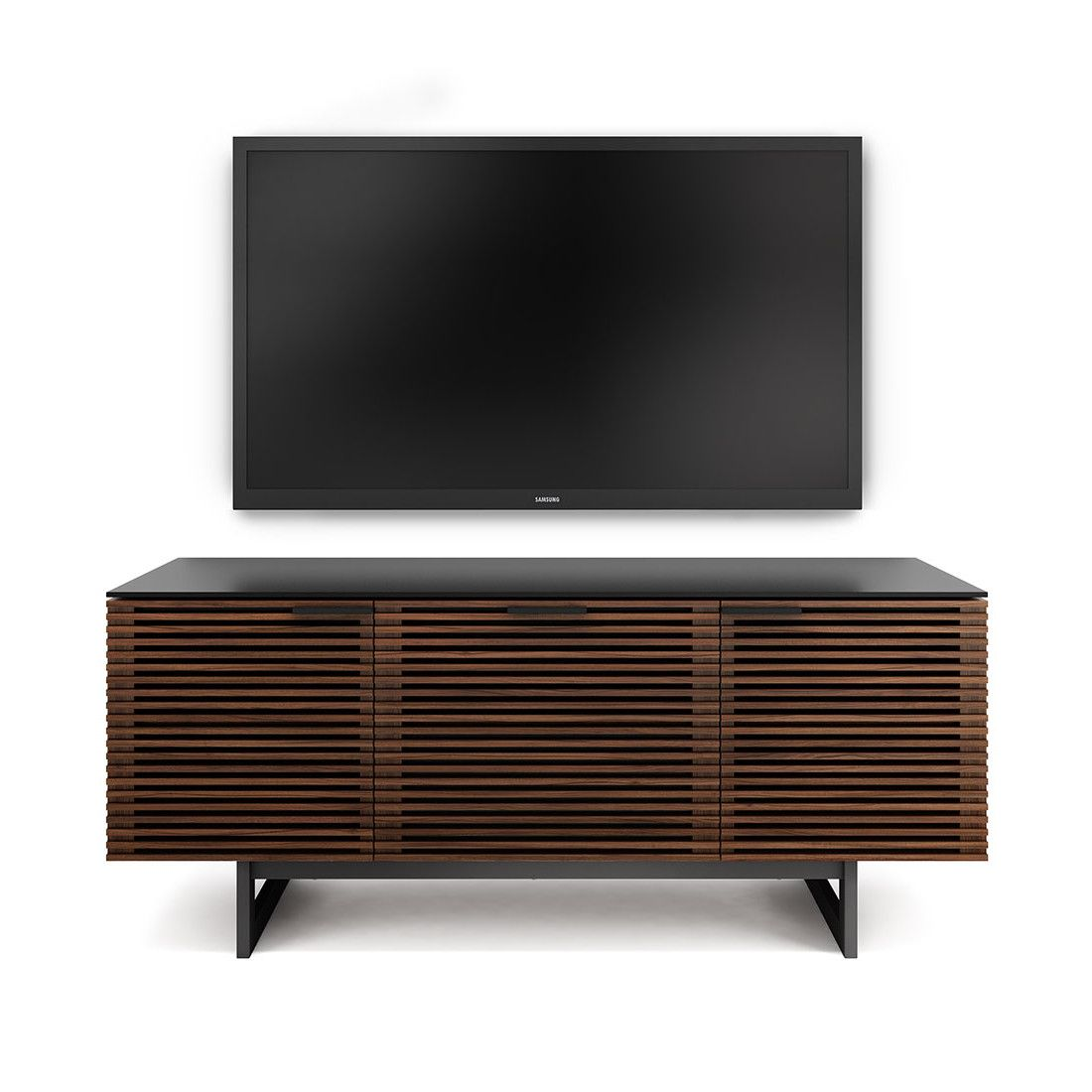 Corridor Triple-Width TV Stand with Drawer