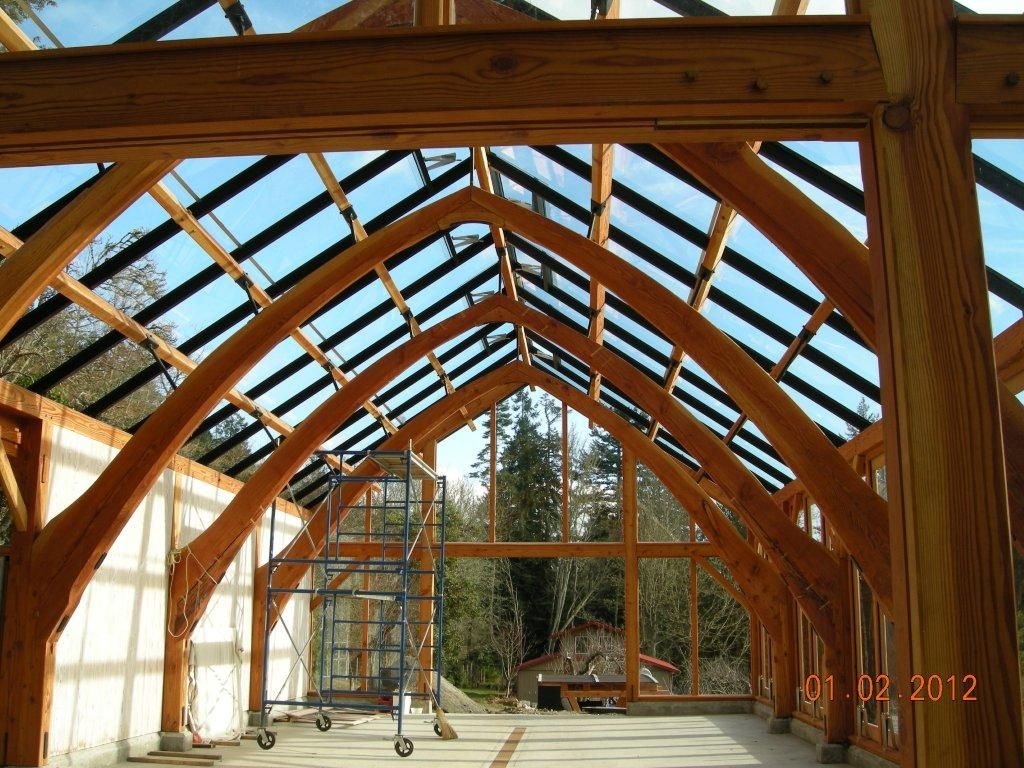 First Post From Newbie Lots Of Creosote Ebw 200 O Timber Structure Timber Framing Timber