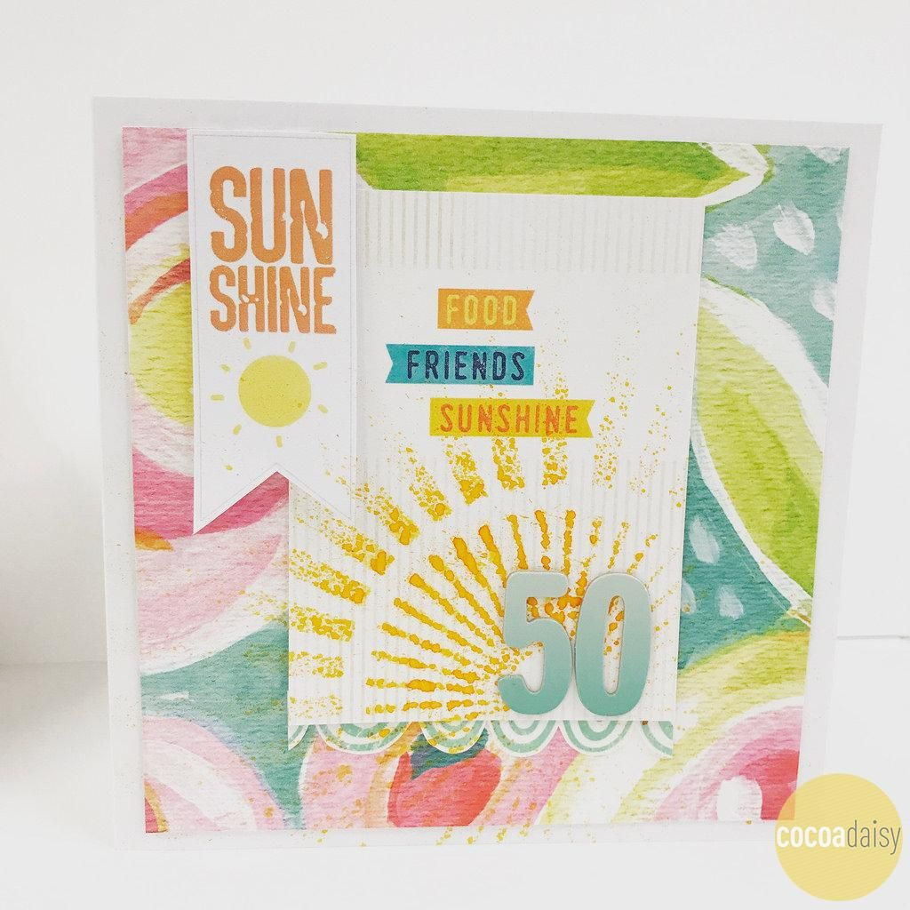 Th card by lisa saunders using the under the sea collection from