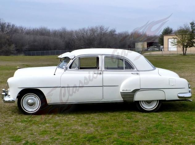 AutoTrader Classics   1952 Chevrolet Styleline Coupe White 8 Cylinder  Manual 2 Wheel Drive | American Classics | Arlington, TX