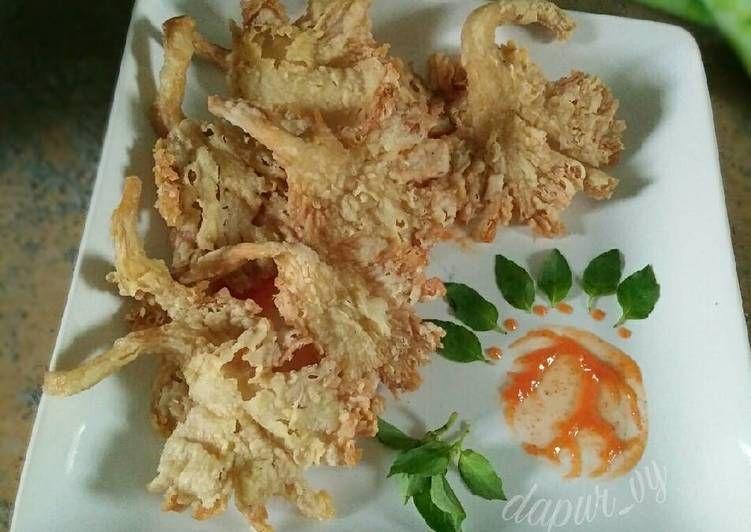 Resep Jamur Enoki Crispy Oleh Ririn Aliftiani Resep Resep Jamur Jamur Resep