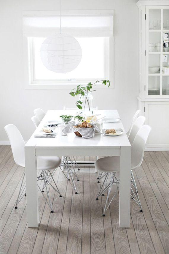 Winter White Interiors White Dining Room Decor White Dining Room White Dining Room Sets