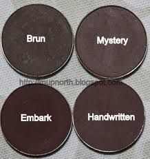 Mac dark browns