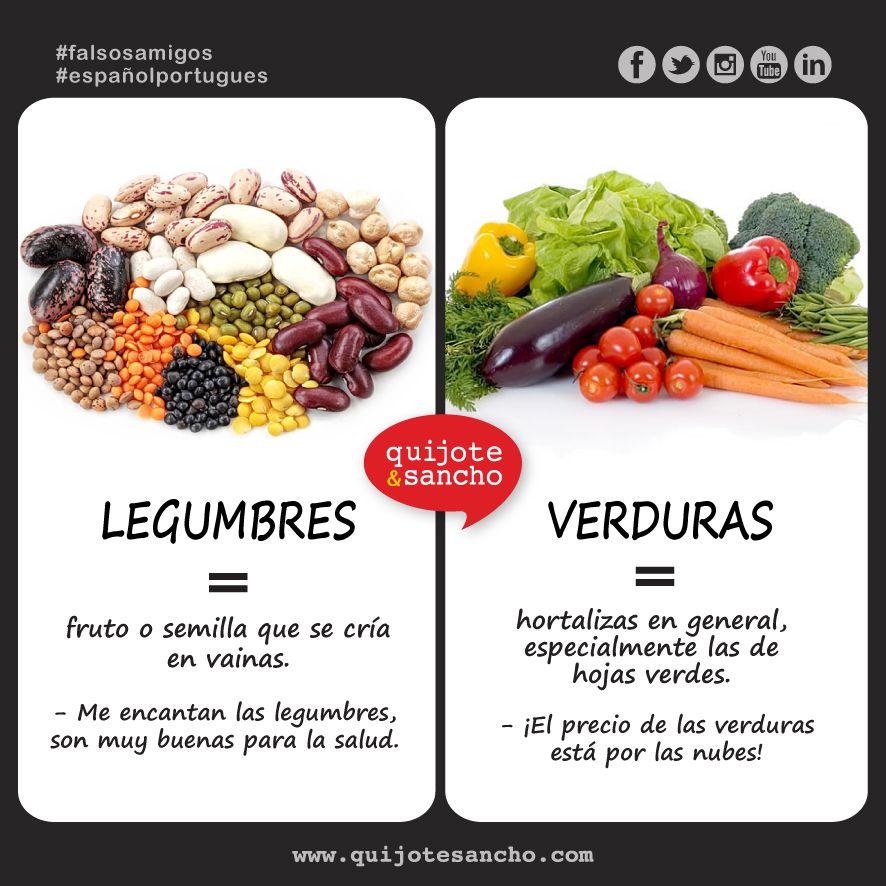 Nombres de legumbres en espa ol buscar con google for Pinterest en espanol