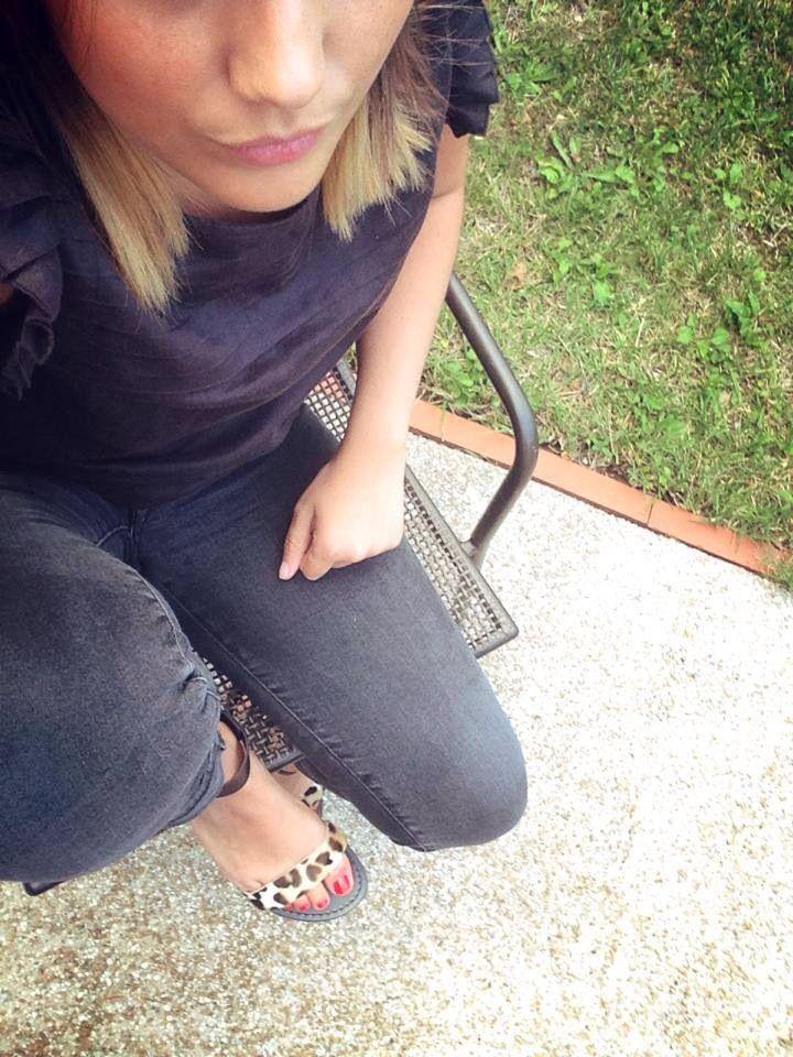 Sandales panthère