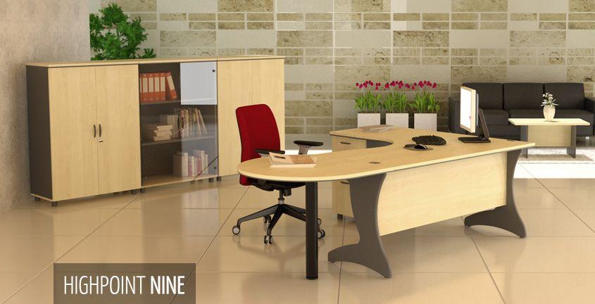 Highpoint Nine | HighPoint Office Irregular-shaped workstation ...