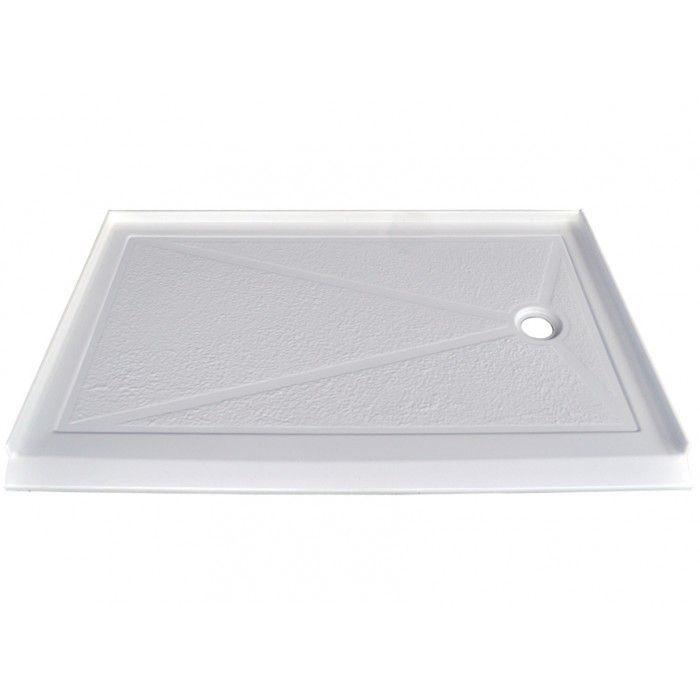 Serene 60x36 Right Drain Barrier Free Shower Base Shower Base