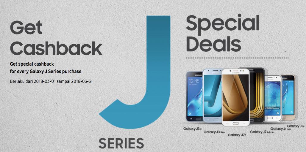 Promo Hp Samsung Cashback Samsung Galaxy J Series Special Deals
