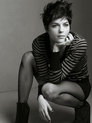 Selma Blair Pixie Haircut (and good selectionof other celebrity pixie cuts)