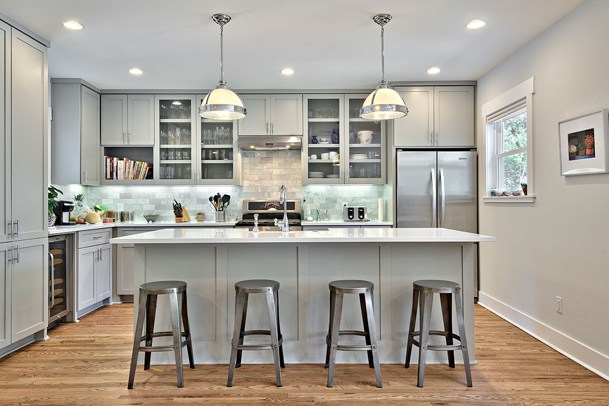 Best 12 Gorgeous And Bright Light Gray Kitchens A Roundup Of 400 x 300