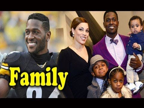 Antonio Brown Son >> Antonio Brown Family Photos With Daughter Son And Wife