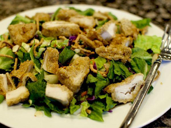 Applebees Oriental Chicken Salad  Chicken Salad Recipes -1302