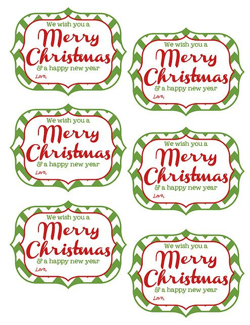 free printable tags we wish you a merry christmas and a happy new