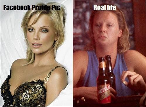 Funny Memes About Life Facebook : Facebook profile pic vs real life pic http: jokideo.com facebook
