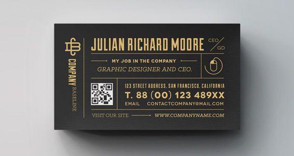 Free Job Card Template Unique 60 Premium & Free Business Card Templates  Pinterest  Free .