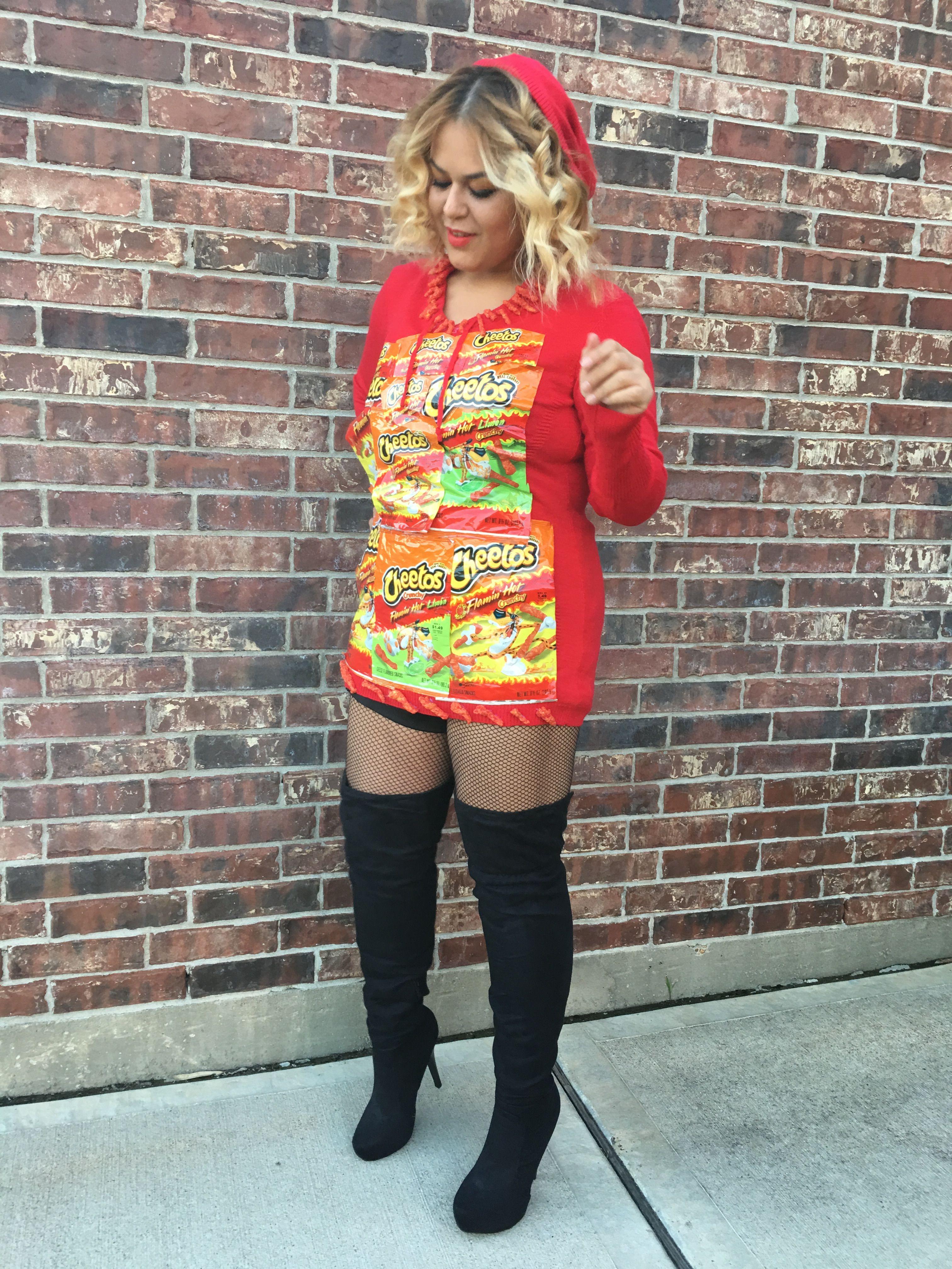 Hot Cheetos Costume Hot Cheetos Cheetos Costume Dyi