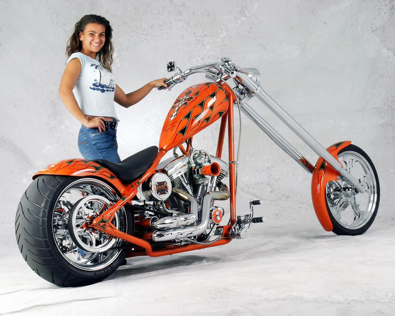 Desktop Wallpaper S Motorcycles Custom 300 Pro Street