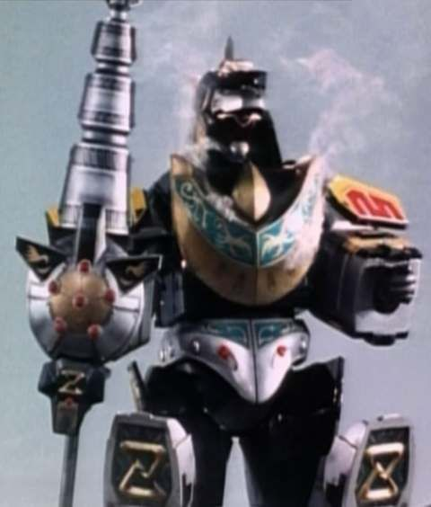 MMPR Zord weapons and attacks: Dragonzord (fighting mode ...
