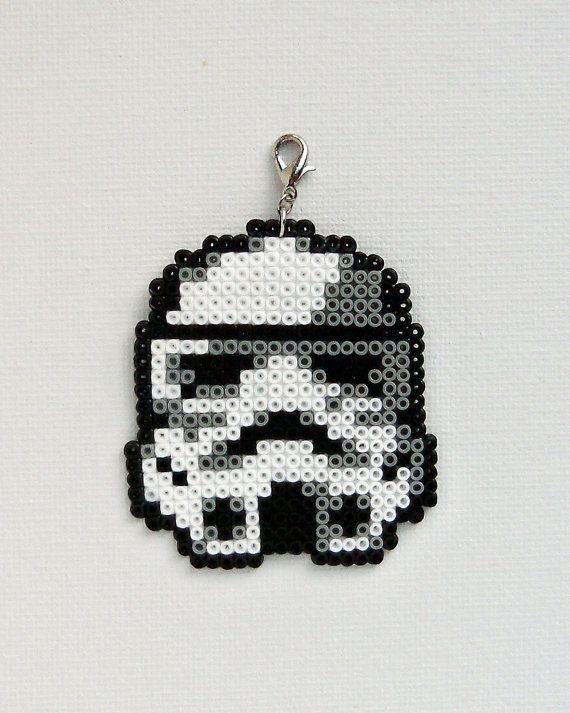 Christmas Stormtrooper Star Wars Perler Beads By Antina86 Hama