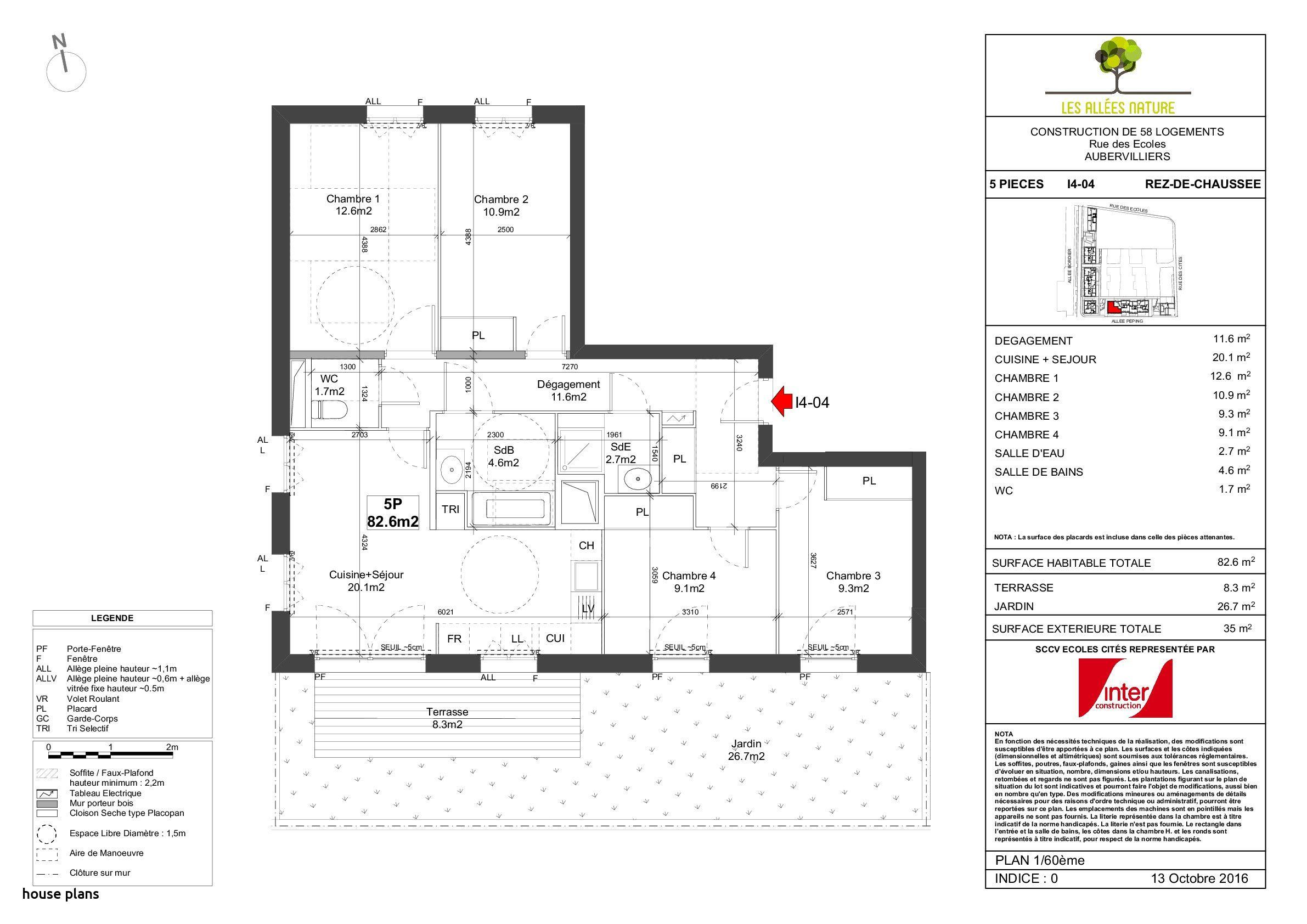 Maison Carree Floor Plan