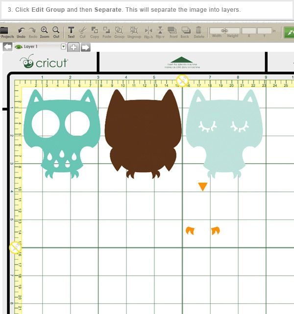 My Cricut Craft Room: Help cutting single full COLOR images in