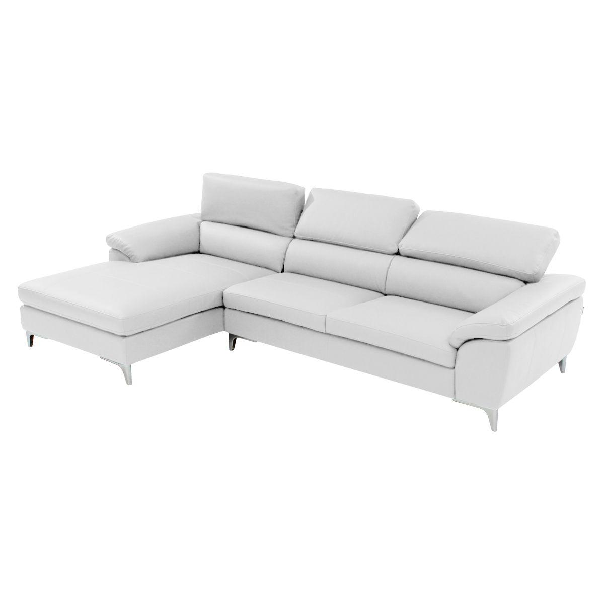 Costa White Corner Sofa W Left Chaise White Corner Sofas Sofa Corner Sofa