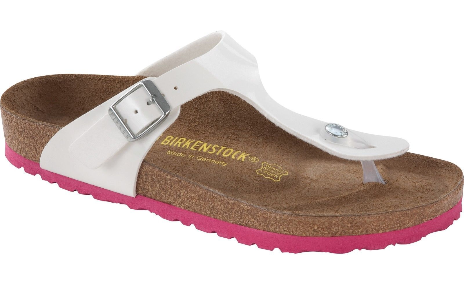 Zapatos negros formales Birkenstock Gizeh para mujer 94s0l4ty