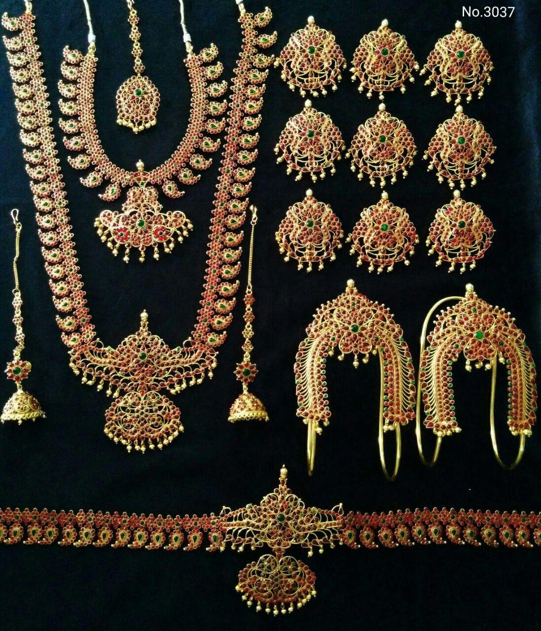 Wedding Set Ready Stock Bridal Jewelry Collection Bridal Ornaments Indian Bridal Jewelry Sets