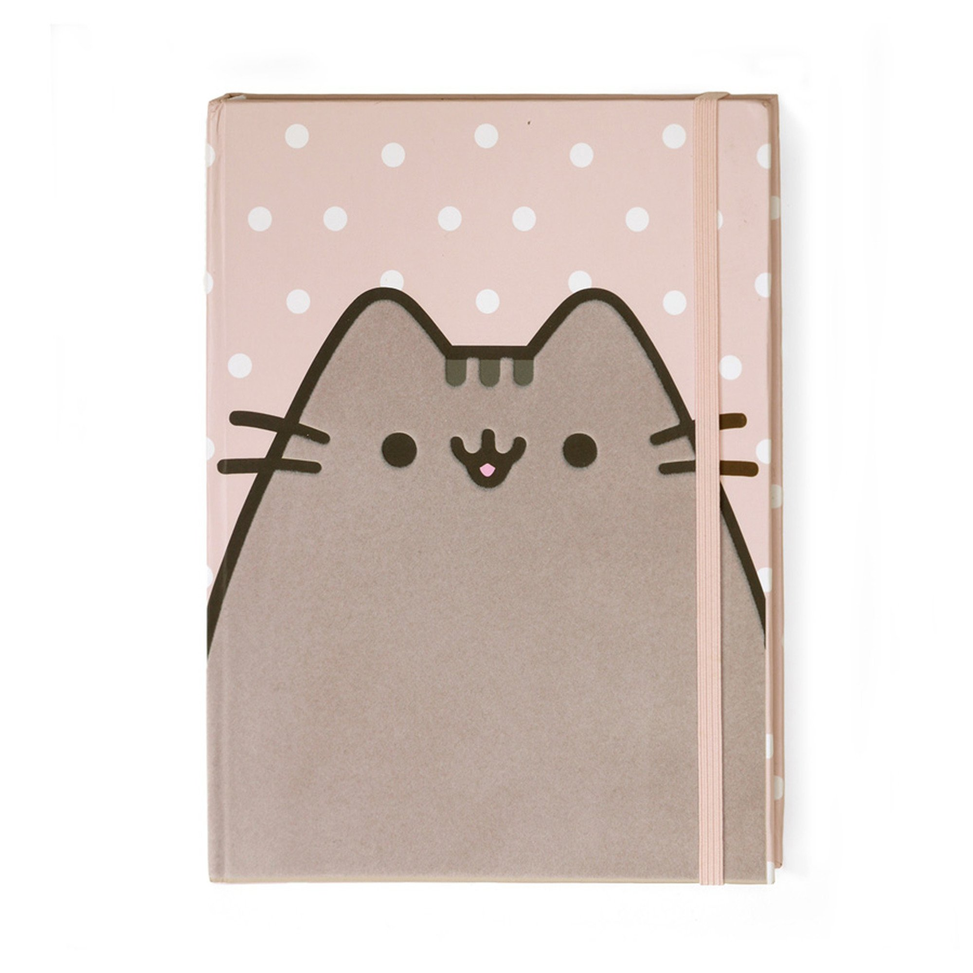 Gund Cover Flocked Polka Pusheen Journal Dot With Nvwmny80O