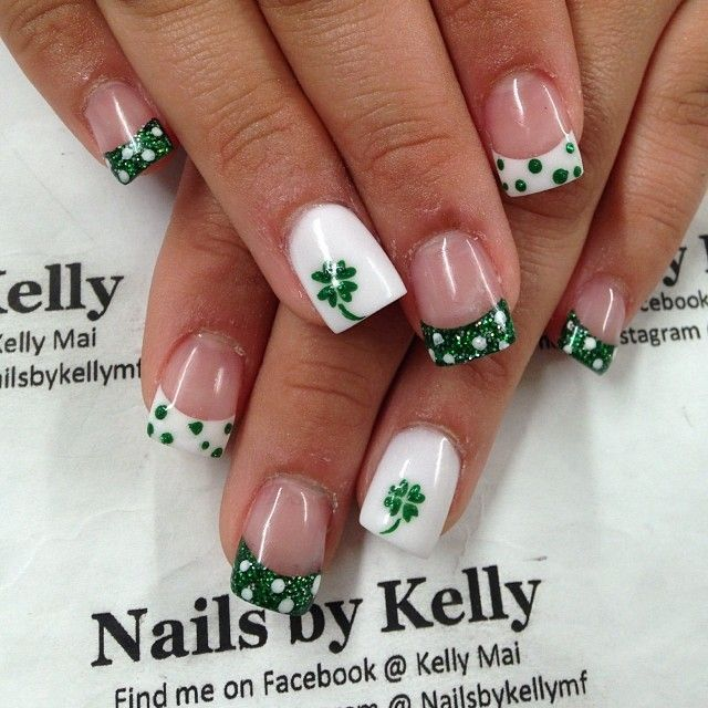 18 St Patrick\'s Day Nail Art for Religious Moments | St. Patrick\'s ...