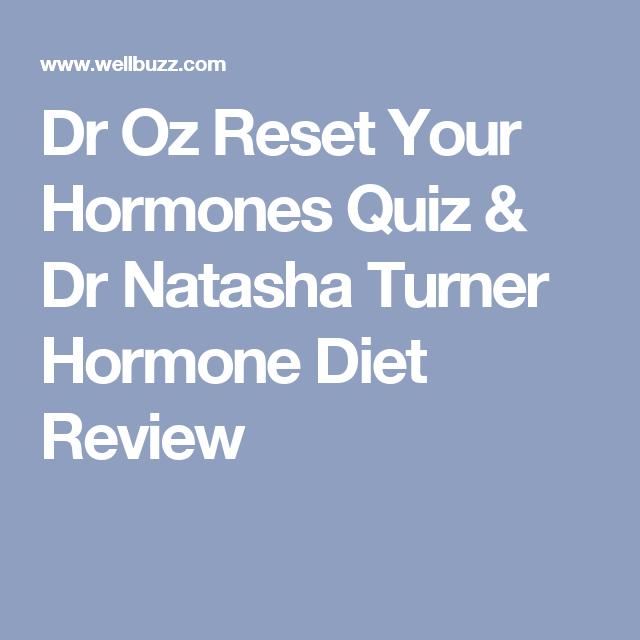 Dr turner hormone diet