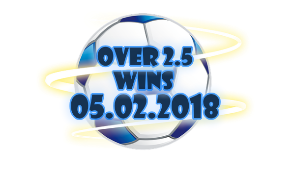 Monday Football Predictions H2H OVERWINS 05 02 2018 | Free