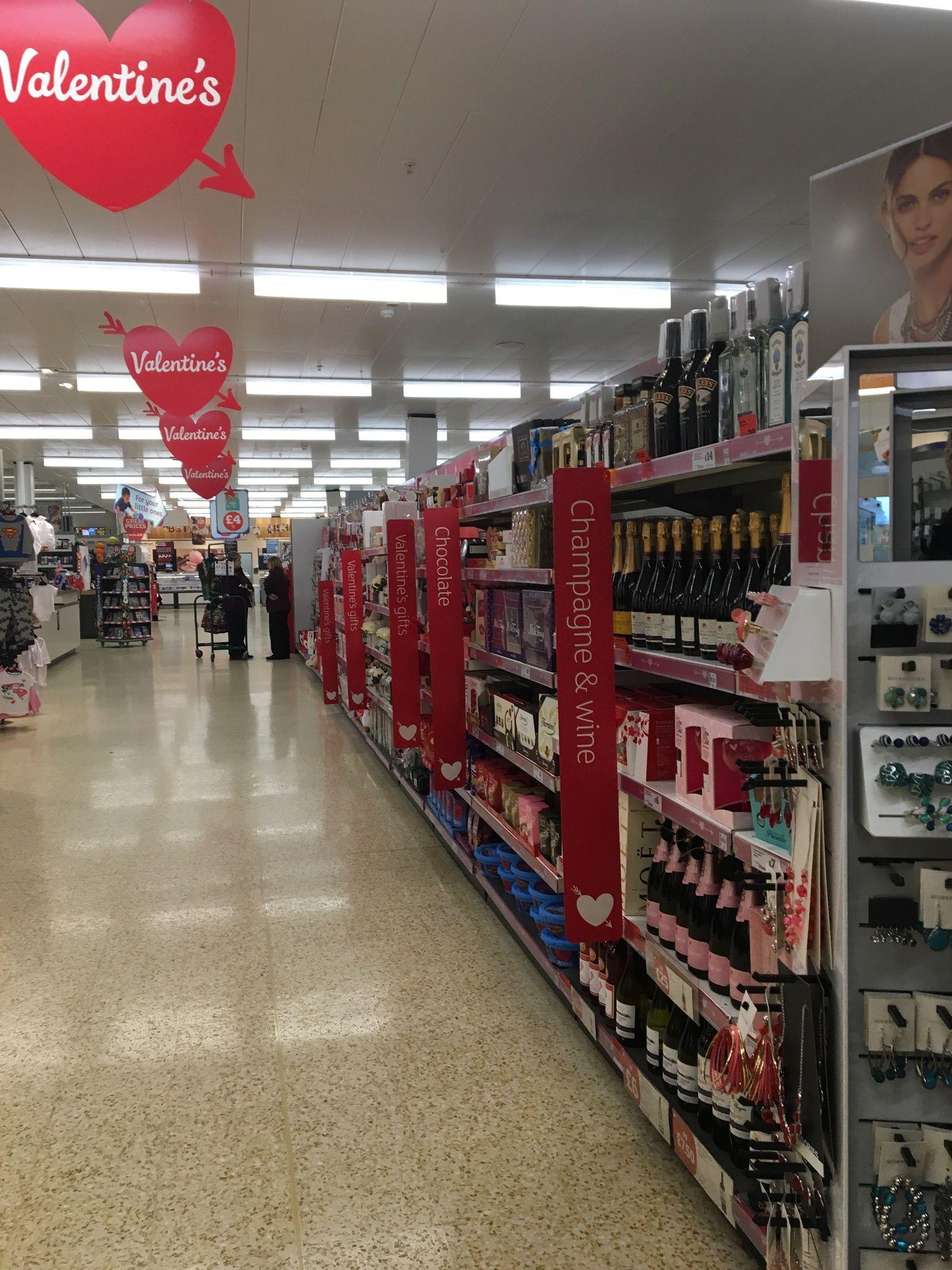 Sainsburys Valentines Shoppermarketing Retail Pos Pointofsale Shopping Design Storedesign Passionateabo Store Design Display Design Shopper Marketing