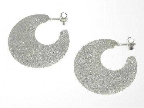 Batussi silver earrings