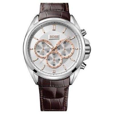 Relógio Men's Brown Hugo Boss Driver Chronograph Watch 1512881 #Relogio HugoBoss