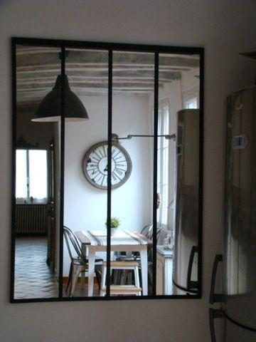 Miroir atelier maison de famille verriere interieure for Miroir atelier