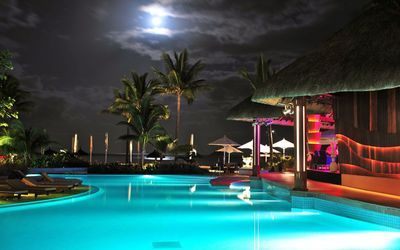 Beautiful Night On The Tropical Beach Wallpaper Beaches