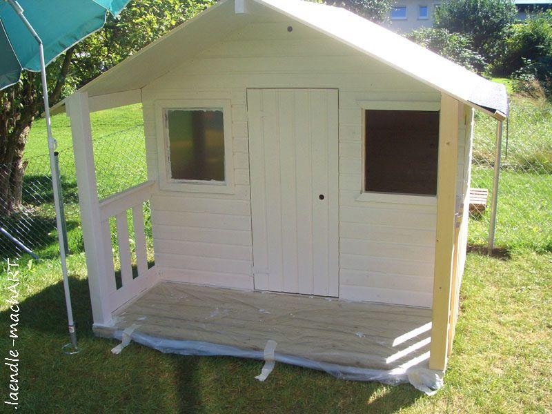 DIY GartenSpielhaus Для детей