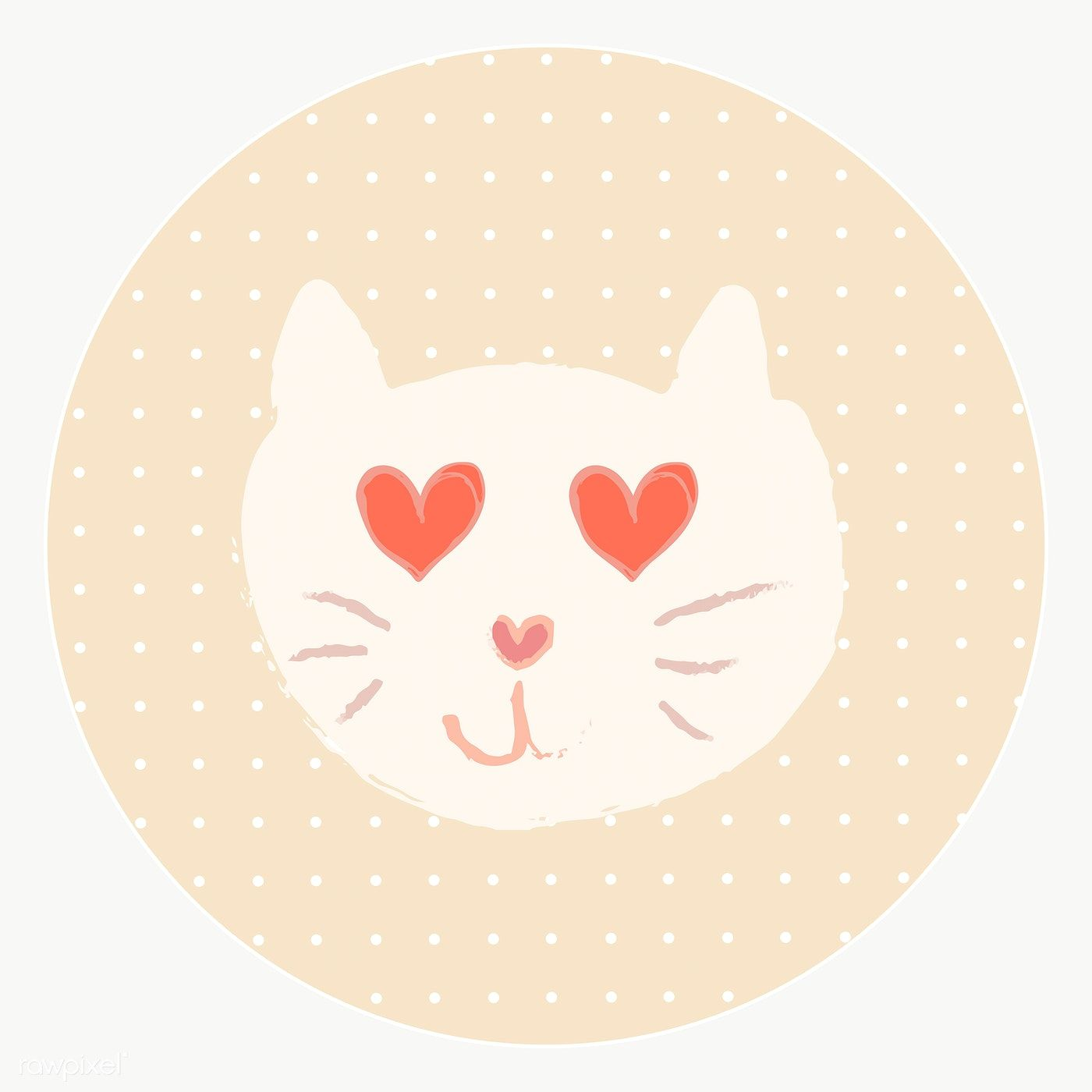 Cute Cat Story Highlights Icon For Social Media Transparent Png Free Image By Rawpixel Com Mind In 2020 Cute Cat Cat Doodle Arts Crafts Supplies
