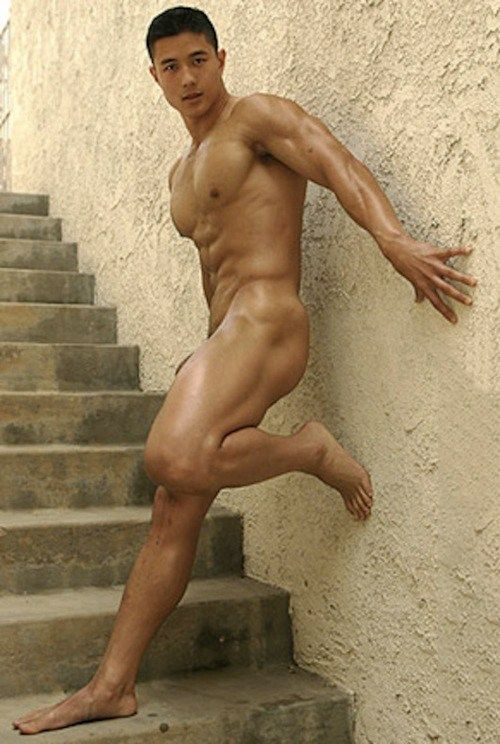 Sexy asian male nude