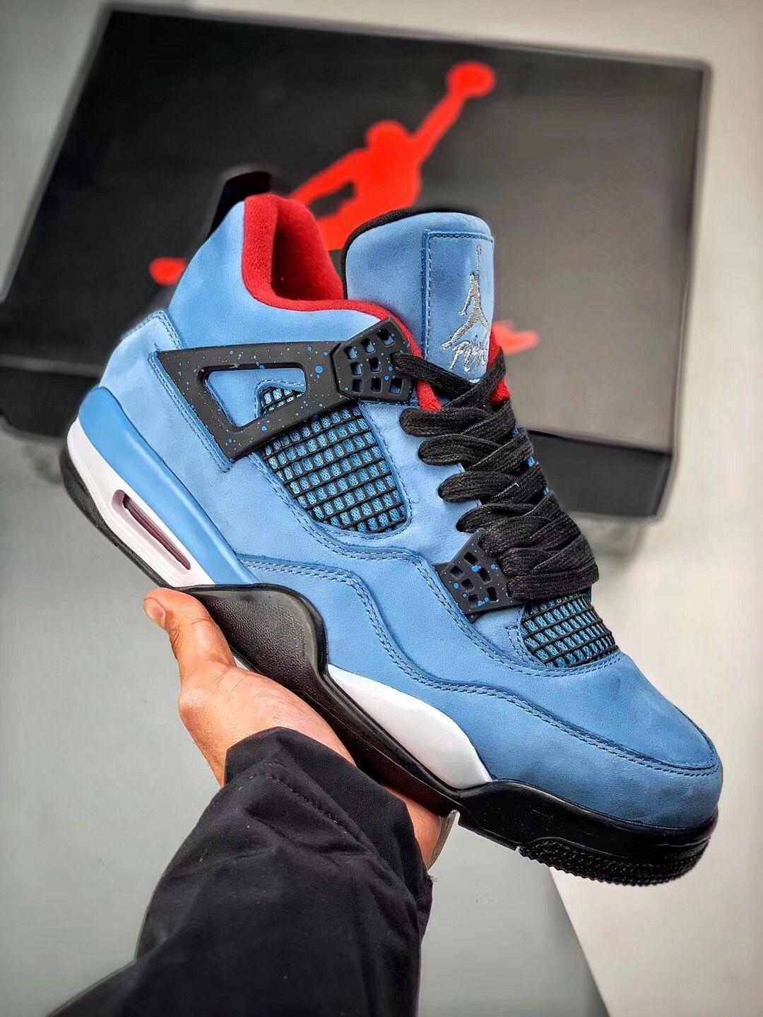 Nike Air Jordan 4 Travis Scott Cactus Jack 308497 406 With Images